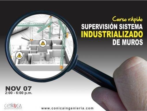 Curso rápido - Sistema Industrializado de muros - CON&CA